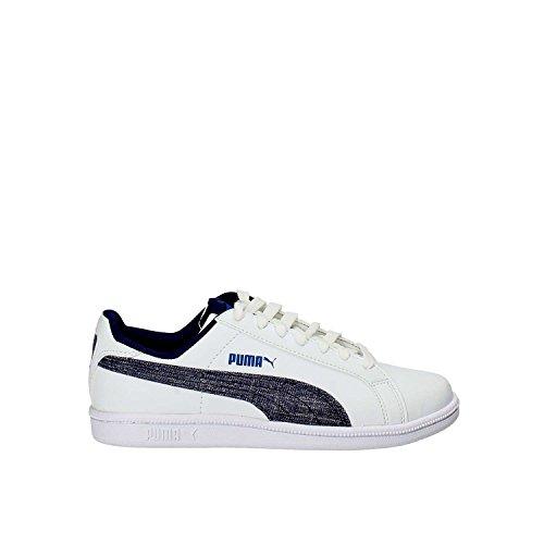 Puma Puma Smash Denim Fs Jr Puma White-Blue D (Kids) White
