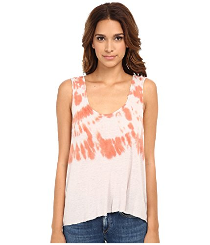 Free-People-Womens-Cruz-Cape-Tank-Pink-Sand-Combo-Size-Medium