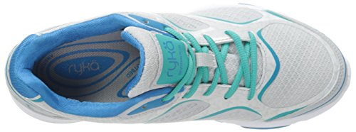 Ryka Walking Iron Blast Grey Teal Malibu Mist Devotion Plus Shoe Teal Cool Grey Women's rwft7qr