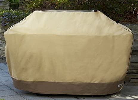 Patio Armor SF40266 80 Inch Premium Mega X Large Grill Cover Taupe