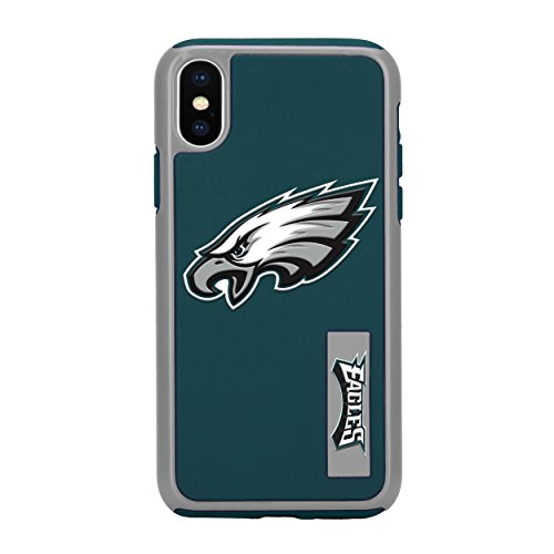 Forever Collectibles iPhone X Dual Hybrid Impact Licensed Case - NFL Philadelphia Eagles