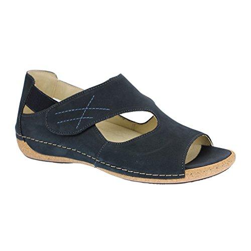 para Waldläufer Azul Zapatos mujer cordones de PPRgY