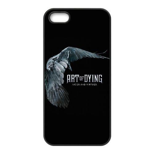 Art Of Dying XF27XU4 coque iPhone 5 5s étui de téléphone cellulaire coque H5ZC5B2MM