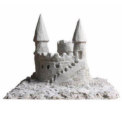 Waba Fun Shape It Sand, White, 5 Lb/80oz Box by Waba Fun