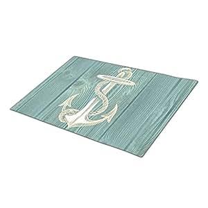 Queenser Anchor Beach Custom Doormat