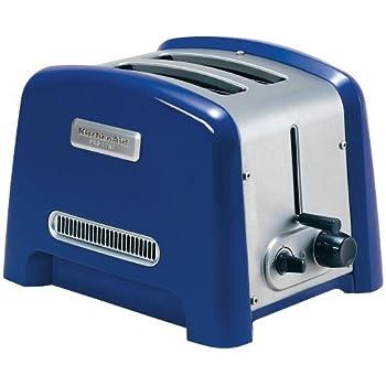 Amazon Com Kitchenaid Pro Line 2 Slice Toaster Cobalt