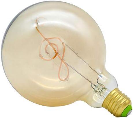 Farbwechsel Farbige Leuchtmittel Lumen Leuchtmittelg125 Musical Edison Birne Led Flexible Glühlampe Antik Retro Dekorative Energiesparende Kronleuchter
