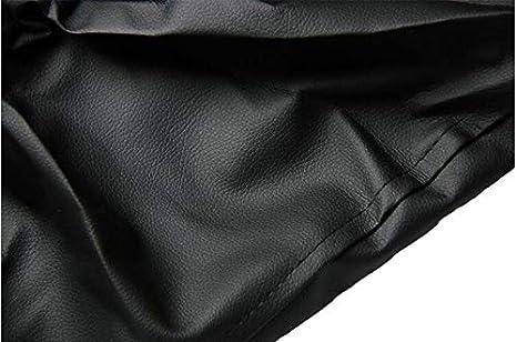 Copriruota Universale per Ruota di scorta in PVC 26-27.2di Diametro Dimensione 14 Pollici Comily Plus -Nero