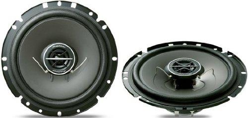 Pioneer TS-1702i – Altavoces para Coche, 170 W, Color Negro