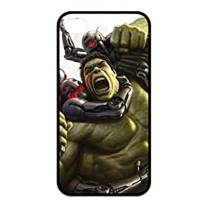 the Case Shop- Avengers 2 Avengers2 Age of Ultron Super Hero the Hulk TPU Rubber Hard Back Case Silicone Cover Skin for iPhone 4 and iPhone 4S , i4xq-773