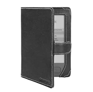 Cover-Up PocketBook Basic 611 eReader Cover Case (Book Style) - Black at Electronic-Readers.com