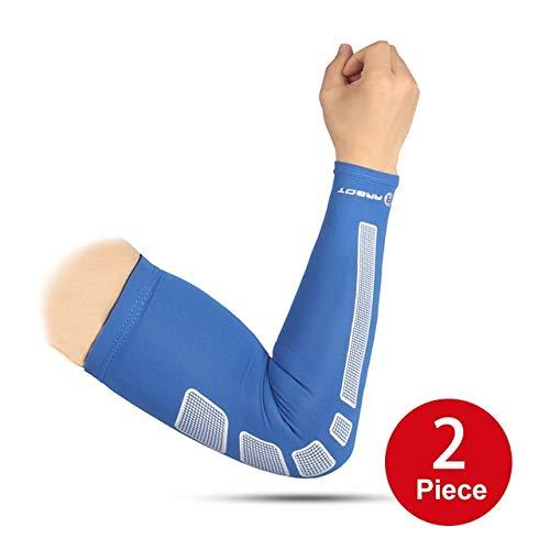 Deportes brazo manga Ua protección brazo ciclismo baloncesto ...