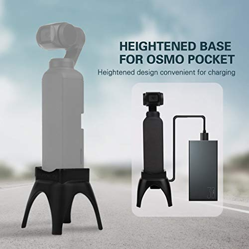 Valentine's Best Gift!!!Kacowpper Dock Holder Heightened Supporting Mount Base Desktop Stand for DJI Osmo Pocket