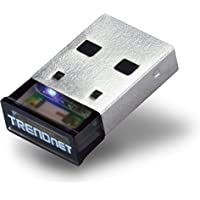 TRENDnet Low Energy Micro Bluetooth 4.0 Class I USB 2.0 with Distance up to 100Meters/330 Feet. Compatible with Win 8.1/8/7/Vista/XP Classic Bluetooth, and stereo headset, TBW-106UB