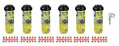 K-Rain K2 Pro Gear Drive 6-Pack with Install Kit