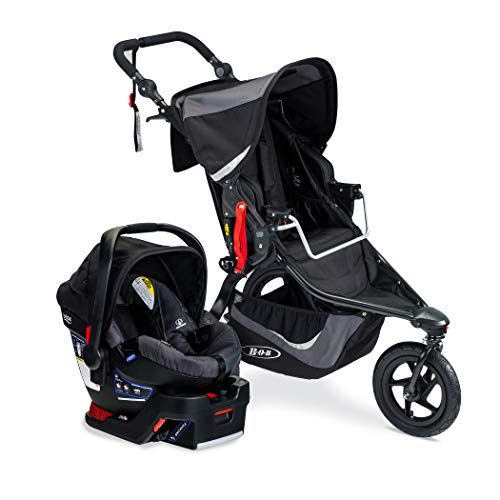 BOB Gear Revolution Flex 3.0 Travel System, Graphite Black