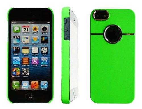 neuen, stilvollen Chrom Serie Grün Hard Back Handy Schutzhülle für Apple I Phone 55G