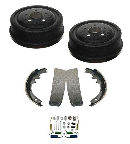 Mac Auto Parts 25524 Ranger & Aerostar Rear '' Brake Drums Brake Shoes and Brake Springs