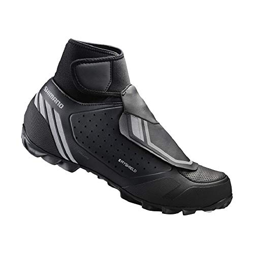 SHIMANO SH-MW500 Durable Trail, Cycling Bicycle Shoes, Black, 38