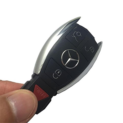 Horande car entry replacement remote control key cover for Mercedes benz car key