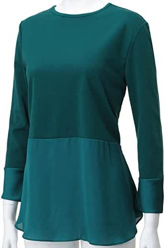 REGNA X Women's Round Neck Long Sleeve Soft & Stretch Tops (4 STYLES/XS-3XL)