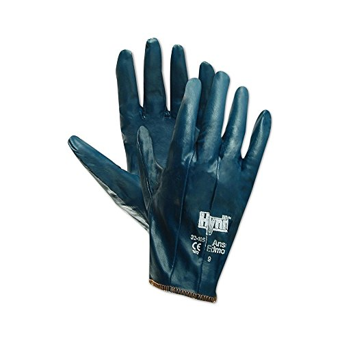 Gloves Ansell Cotton (Ansell Hynit 32-105 Fully Coated Nitrile Impregnated Gloves)