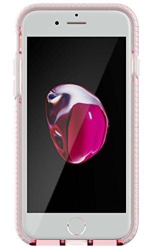 Tech21 Evo Check for iPhone 7 - Light Rose/White