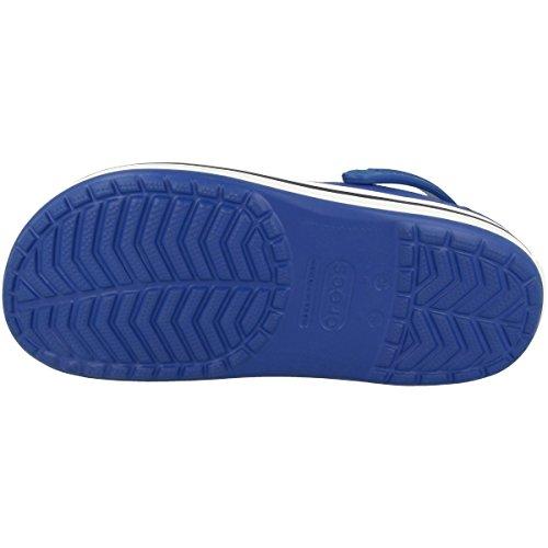 Crocs Crocband, Zoccoli Unisex – Adulto Cerulean Blue-navy (11016-4bj)