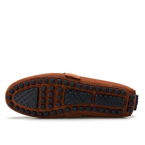 EU talla color mocasines 41 hombre CFP Botas marrón Aq0Fn6B