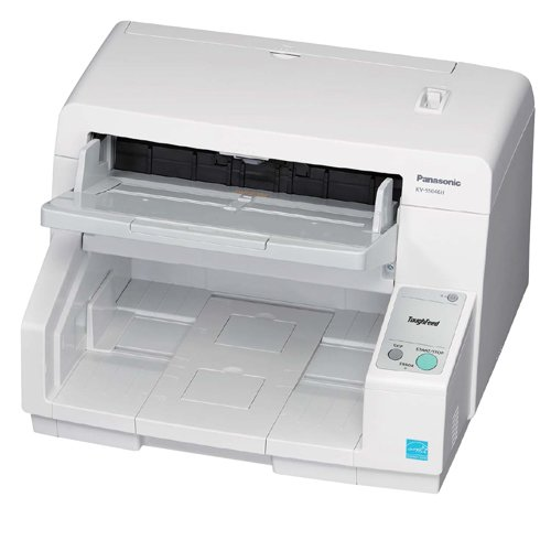 Panasonic KV-S5046H High Speed Color Duplex Sheet Feed 1-Line CIS Scanner, 80ppm/160ipm Color, 600dpi Optical, 300 Sheets ADF by Panasonic (Image #1)