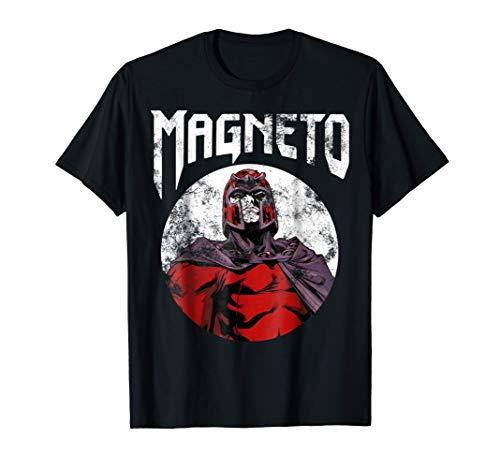 - Marvel X-Men Magneto Classic Retro Rock Band Graphic T-Shirt