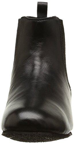 Initiale Loyale, Damen Chelsea Boots Schwarz (noir Lisse)
