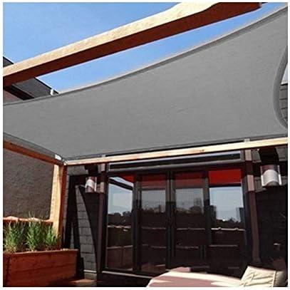 BAIYING Malla Sombra De Red Al Aire Libre Protector Solar Cifrado Malla Tejida Anti-UV Hebilla De Metal Polietileno, 18 Tallas Personalizable (Color : Gray, Size : 1x2m): Amazon.es: Hogar