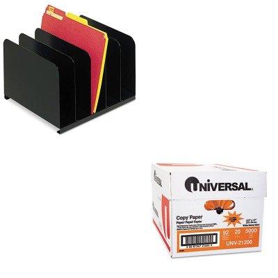 KITMMF2645004UNV21200 - Value Kit - MMF Desktop Vertical Organizer (MMF2645004) and Universal Copy Paper (UNV21200)