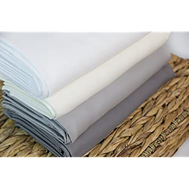 Super Soft Bed Sheets-100% Rayon From Bamboo in Cream, Size Full