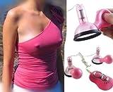 BFY Speeds Vibrating Pump Nipple Massager Breast Flirt Female Climax Adult Toy R18+