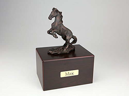 Ever My Pet Horse Economy Bronze Series Pet Urn