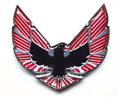 (The Parts Place Pontiac Firebird/Trans Am Sail Panel Fender Bird Emblem - 1 12