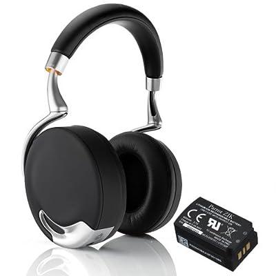 Parrot Zik Active Noise Cancelling Concert Hall Effect Bluetooth Headphones Bundle with Parrot Zik Battery (3.7V - 800 mAh)