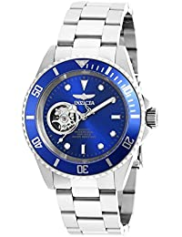 Men's 'Pro Diver' Stainless Steel Automatic Watch, Color:Silver-Toned (Model: 20434)