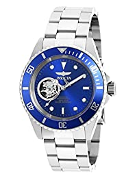 Invicta Men's 'Pro Diver' Stainless Steel Automatic Watch, Silver-Toned (Model: 20434)