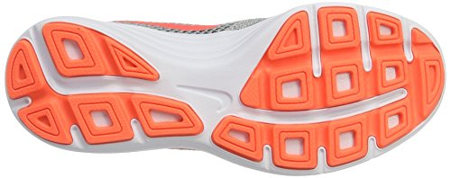 Nike Revolution 3, Zapatillas de Trail Running para Mujer Gris (Wolf Grey / Hyper Orange-Cool Grey)