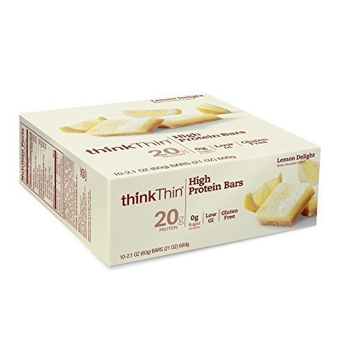 thinkThin High Protein Bars, Lemon Delight 21 Oz
