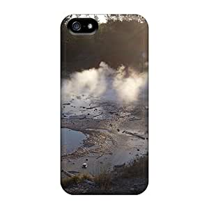 Awesome Geyser At Norris Flip Case With Fashion Design For Iphone 5/5s