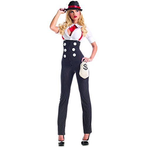 Party King Women's Heist Hottie Sexy Costume Set,