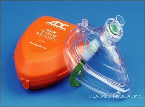 Adsafe Cpr Pocket Resuscitator - CPR MASK POCKET RESUSCITATOR Adsafe 10 PACK