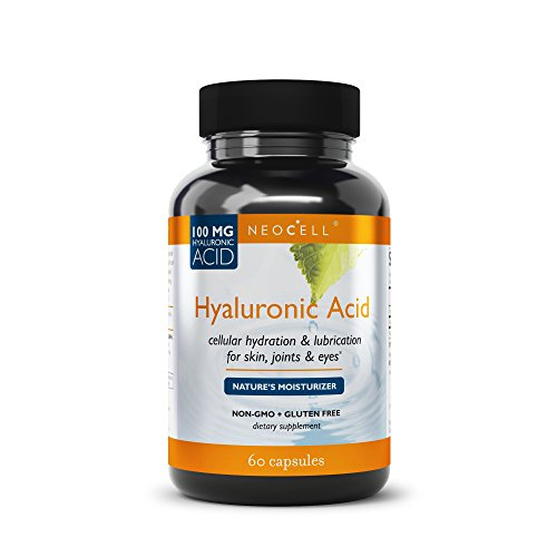 Capsules Double 60 Strength (NeoCell - Hyaluronic Acid Double Strength - 60 Capsules)