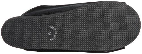 Flexibele Japanse Geta Sandaal Door Boorontwerp - Zwart