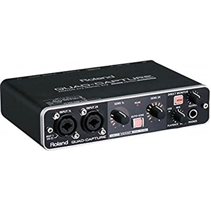 Amazon.com: Roland QuadCapture Audio Interface: Musical Instruments