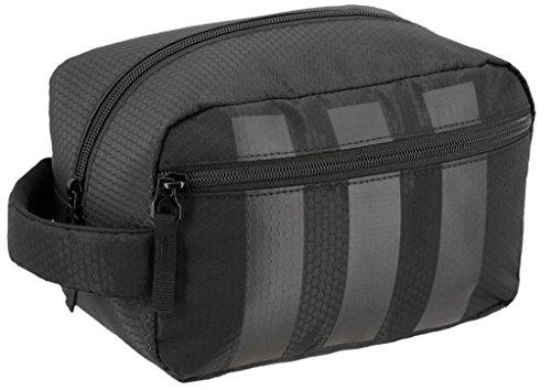 adidas Team Toiletry Kit Bag, Black, One Size